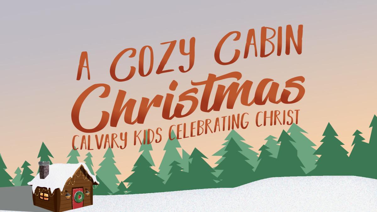 Cozy Cabin Christmas Eve