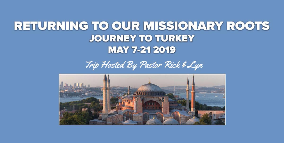 Turkey Missionary Trip