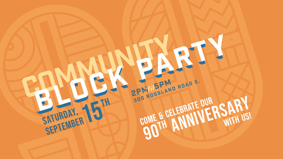 90th Anniversary Block Party!
