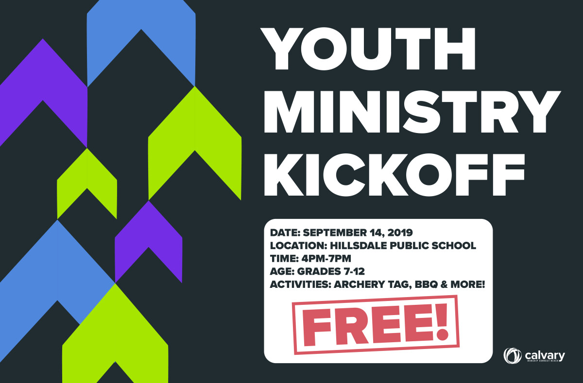 Gr 7–12 Youth KickOff Event