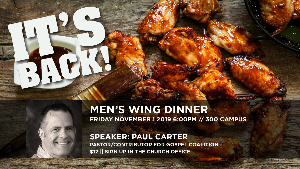 Men's Wing Night