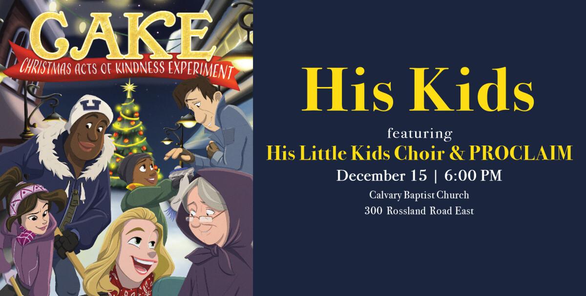 His Kids & His Little Kids Christmas Concert