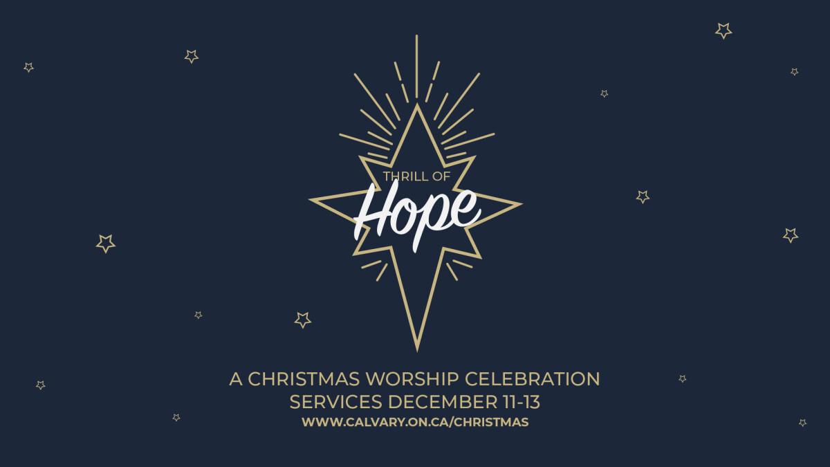 Thrill of Hope - Christmas Presentation